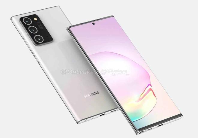 Samsung Galaxy Note 20+ sẽ có màn hình cong, Note 20 có màn hình phẳng - Ảnh 1.