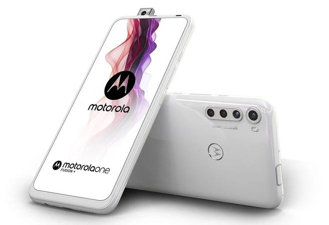 Motorola quay trở lại với One Fusion+: Camera selfie thò thụt, Snapdragon 730, pin 5000mAh, giá 7.9 triệu đồng - Ảnh 1.