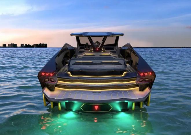 Lamborghini thiết kế du thuyền trông như siêu xe, giá 3,4 triệu USD - Ảnh 5.
