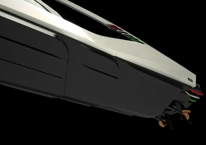 Lamborghini thiết kế du thuyền trông như siêu xe, giá 3,4 triệu USD - Ảnh 6.