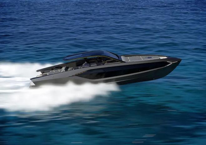 Lamborghini thiết kế du thuyền trông như siêu xe, giá 3,4 triệu USD - Ảnh 8.