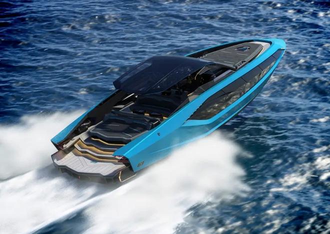 Lamborghini thiết kế du thuyền trông như siêu xe, giá 3,4 triệu USD - Ảnh 9.