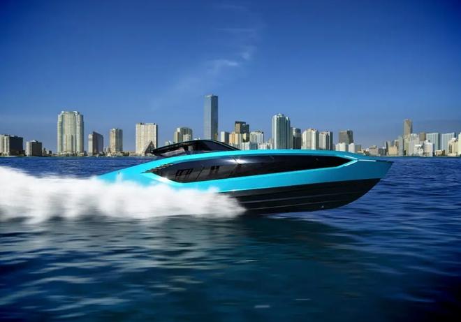 Lamborghini thiết kế du thuyền trông như siêu xe, giá 3,4 triệu USD - Ảnh 10.