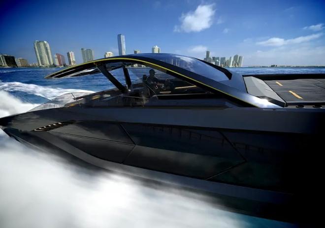 Lamborghini thiết kế du thuyền trông như siêu xe, giá 3,4 triệu USD - Ảnh 11.