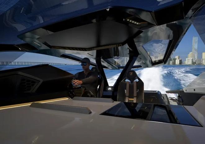 Lamborghini thiết kế du thuyền trông như siêu xe, giá 3,4 triệu USD - Ảnh 12.