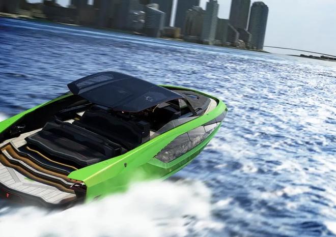 Lamborghini thiết kế du thuyền trông như siêu xe, giá 3,4 triệu USD - Ảnh 13.