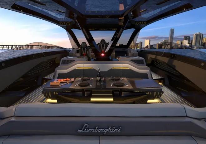 Lamborghini thiết kế du thuyền trông như siêu xe, giá 3,4 triệu USD - Ảnh 17.