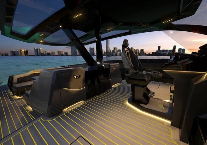 Lamborghini thiết kế du thuyền trông như siêu xe, giá 3,4 triệu USD - Ảnh 18.