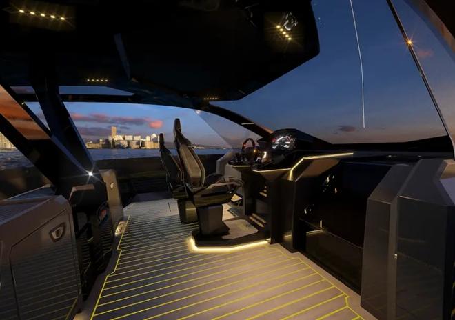 Lamborghini thiết kế du thuyền trông như siêu xe, giá 3,4 triệu USD - Ảnh 19.