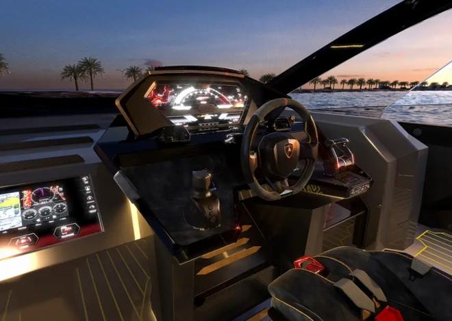 Lamborghini thiết kế du thuyền trông như siêu xe, giá 3,4 triệu USD - Ảnh 20.
