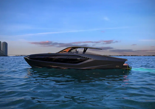 Lamborghini thiết kế du thuyền trông như siêu xe, giá 3,4 triệu USD - Ảnh 1.