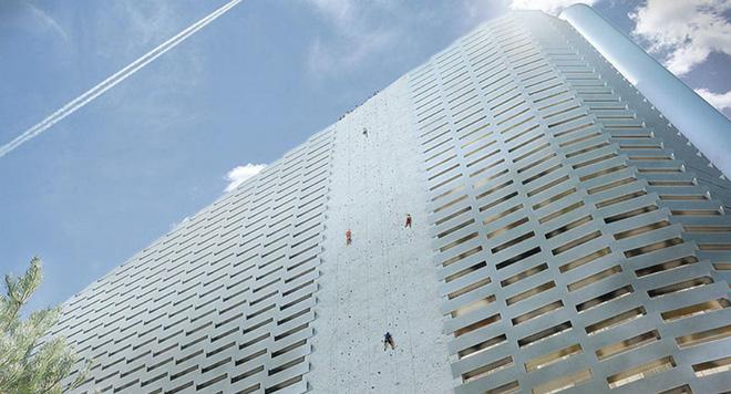 Ngắm nhìn bức tường leo núi cao nhất thế giới được xây dựng ngay trên một tòa nhà cao tầng - Ảnh 7.