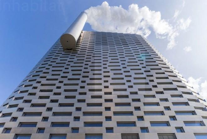 Ngắm nhìn bức tường leo núi cao nhất thế giới được xây dựng ngay trên một tòa nhà cao tầng - Ảnh 12.