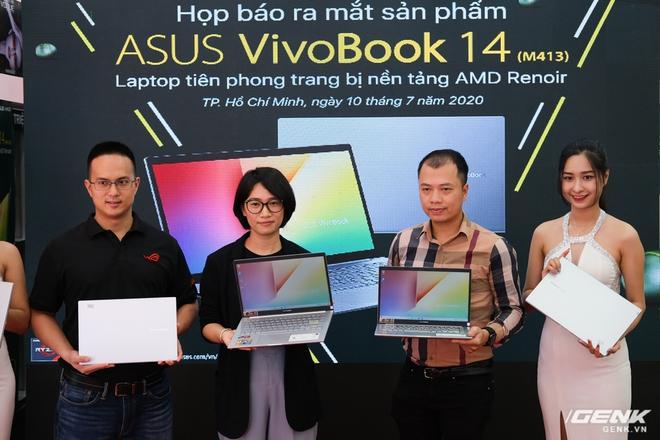 Cận cảnh ASUS VivoBook 14 (M413): Chạy Ryzen 4000 series, đồ họa tích hợp Radeon RX Vega 6, SSD lên đến 1TB, giá từ 15,49 triệu đồng - Ảnh 1.
