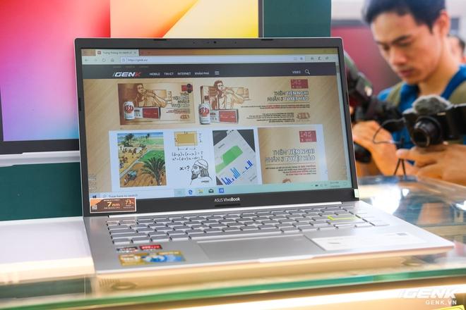 Cận cảnh ASUS VivoBook 14 (M413): Chạy Ryzen 4000 series, đồ họa tích hợp Radeon RX Vega 6, SSD lên đến 1TB, giá từ 15,49 triệu đồng - Ảnh 5.