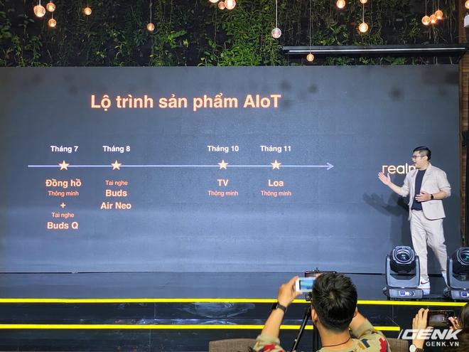 Realme mở rộng hệ sinh thái sản phẩm tại Việt Nam, ra mắt cùng lúc điện thoại, tai nghe và đồng hồ thông minh - Ảnh 13.