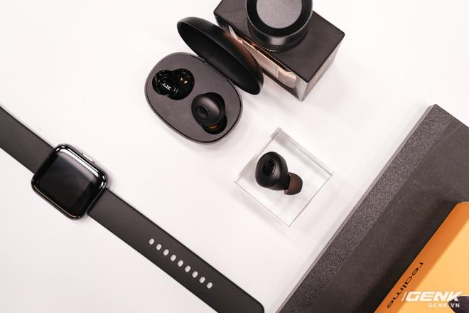 Realme mở rộng hệ sinh thái sản phẩm tại Việt Nam, ra mắt cùng lúc điện thoại, tai nghe và đồng hồ thông minh - Ảnh 12.