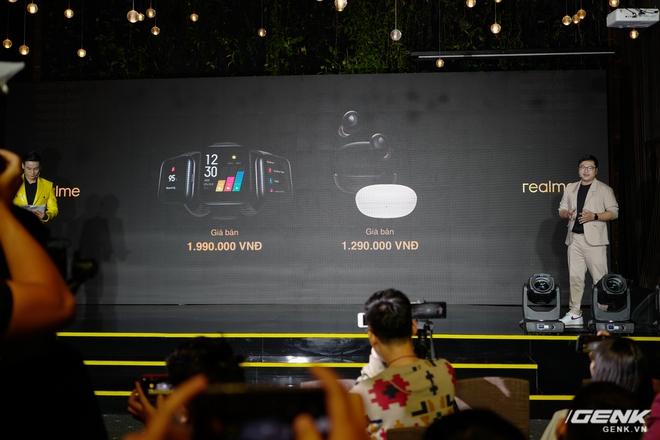 Realme mở rộng hệ sinh thái sản phẩm tại Việt Nam, ra mắt cùng lúc điện thoại, tai nghe và đồng hồ thông minh - Ảnh 14.