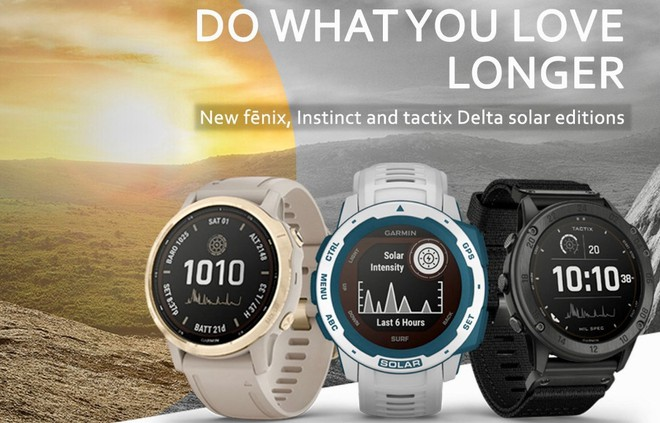 Garmin trình làng loạt smartwatch chạy bằng năng lượng mặt trời, có thể hoạt động tới 50 ngày/lần sạc - Ảnh 1.
