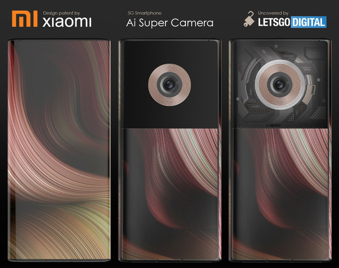 Xiaomi đang ấp ủ smartphone với màn hình bao quanh thân máy, mặt lưng trong suốt, camera 108MP? - Ảnh 1.