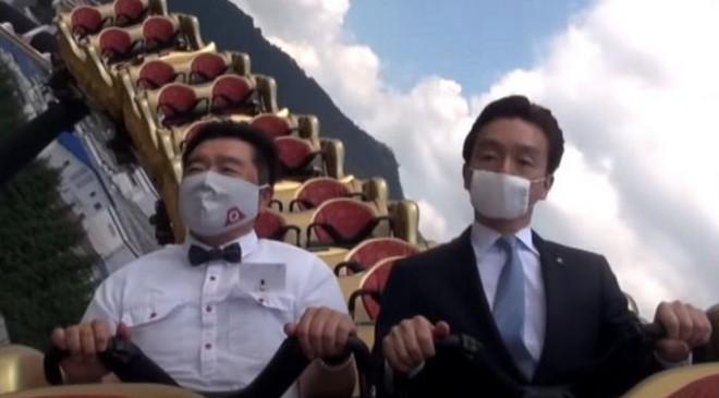 Công viên giải trí tại Nhật Bản yêu cầu du khách không la hét khi chơi tàu lượn siêu tốc vì lo ngại lây nhiễm Covid-19 - Ảnh 4.