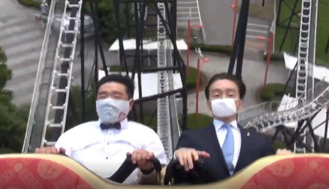 Công viên giải trí tại Nhật Bản yêu cầu du khách không la hét khi chơi tàu lượn siêu tốc vì lo ngại lây nhiễm Covid-19 - Ảnh 2.