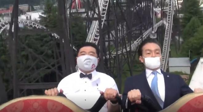 Công viên giải trí tại Nhật Bản yêu cầu du khách không la hét khi chơi tàu lượn siêu tốc vì lo ngại lây nhiễm Covid-19 - Ảnh 3.