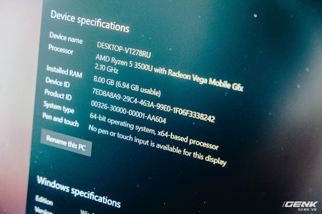 Trên tay Huawei MateBook D15: Khi không thể bán điện thoại, tại sao không chuyển sang bán laptop? - Ảnh 14.