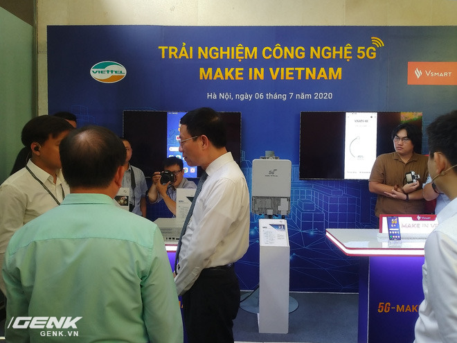 Triển lãm các nền tảng số của Việt Nam: thiết bị 5G của Viettel, Vsmart, Bizfly Cloud cùng nhiều giải pháp chuyển đổi số cho mùa dịch - Ảnh 6.
