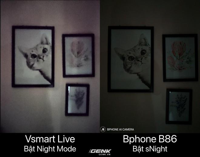 So sánh Bphone B86 và Vsmart Live: Cùng chip Snapdragon 675 nhưng Bphone đắt gấp 2.5 lần, liệu có đáng số tiền bỏ ra? - Ảnh 9.