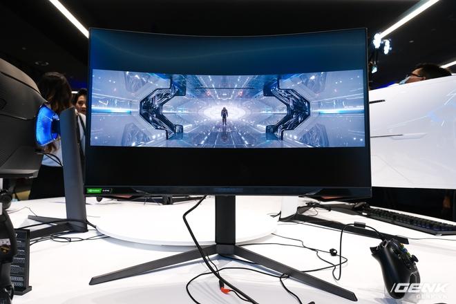 Cận cảnh màn hình cong 49 inch chuyên game 1000R của Samsung: Thiết kế đến từ tương lai, độ phân giải DQHD, 1ms, 240Hz, giá hơn 55 triệu đồng - Ảnh 6.