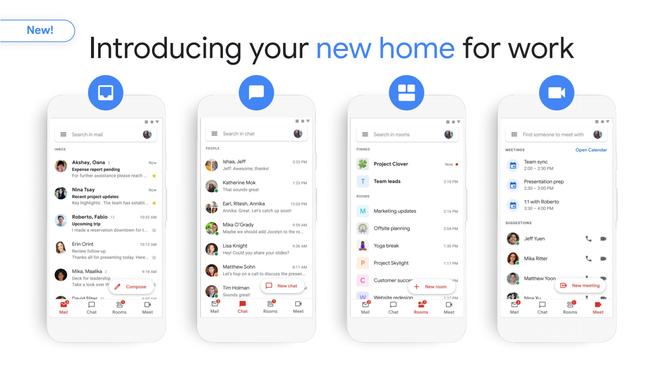 Cạnh tranh với Microsoft, Google tích hợp mọi công cụ làm việc và giao tiếp vào trong Gmail - Ảnh 2.