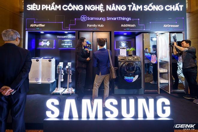 Samsung trình diễn dải sản phẩm gia dụng cao cấp dẫn đầu xu hướng IoT - Ảnh 2.