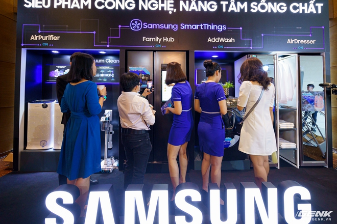 Samsung trình diễn dải sản phẩm gia dụng cao cấp dẫn đầu xu hướng IoT - Ảnh 3.