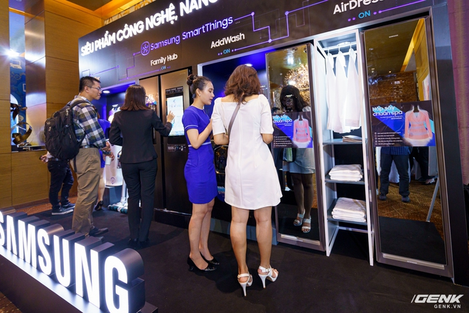 Samsung trình diễn dải sản phẩm gia dụng cao cấp dẫn đầu xu hướng IoT - Ảnh 1.