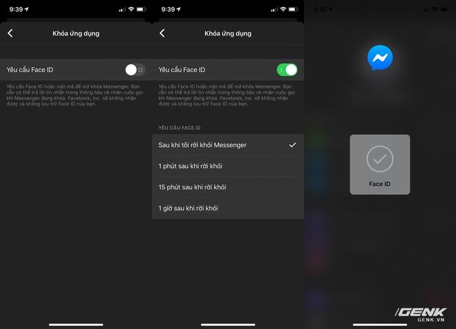 Facebook Messenger cập nhật tính năng xác thực bằng Face ID/Touch ID - Ảnh 3.