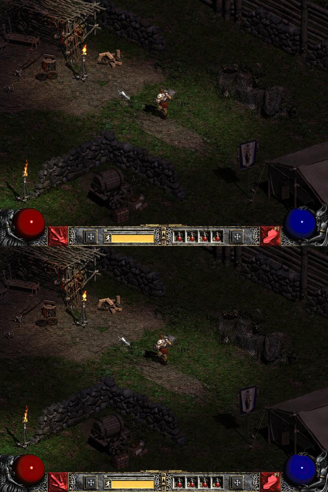 YouTuber dùng machine learning tái tạo huyền thoại Diablo II với hình ảnh cực đẹp, chạy độ phân giải 4K 60 FPS mượt mà - Ảnh 4.