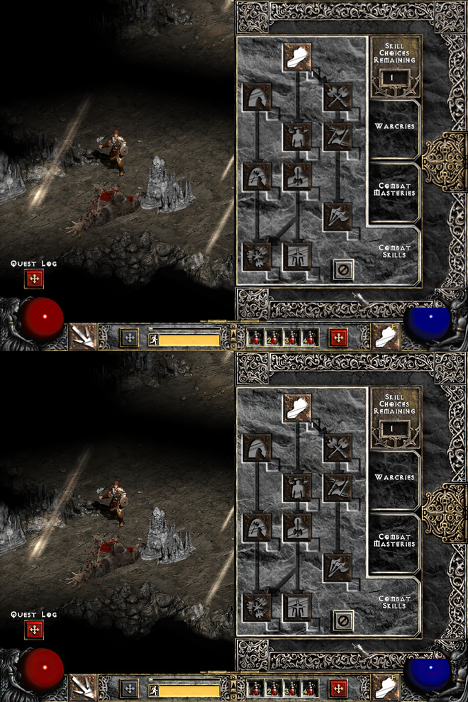 YouTuber dùng machine learning tái tạo huyền thoại Diablo II với hình ảnh cực đẹp, chạy độ phân giải 4K 60 FPS mượt mà - Ảnh 5.