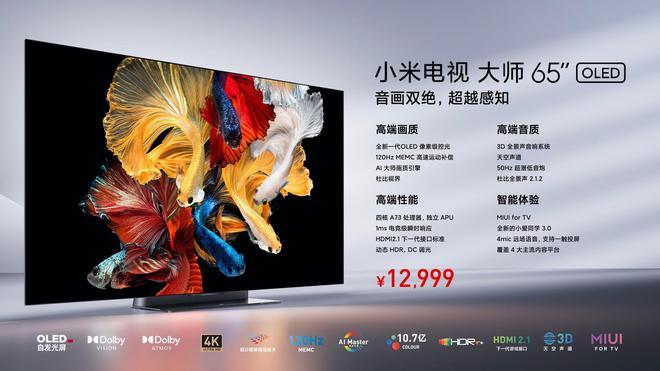 Xiaomi ra mắt TV OLED Master Series mới: 65 inch, viền siêu mỏng, 120Hz, chạy MIUI TV, giá 43 triệu đồng - Ảnh 8.