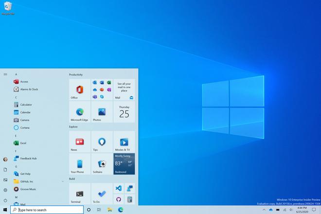 Microsoft ra mắt giao diện thiết kế mới của Start Menu, thêm tính năng cho tổ hợp phím Alt-Tab - Ảnh 1.
