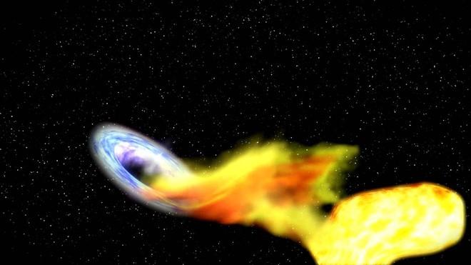 Lần đầu tiên trong lịch sử, các nhà thiên văn học quan sát được 1 hố đen vừa chớp mắt - Ảnh 3.