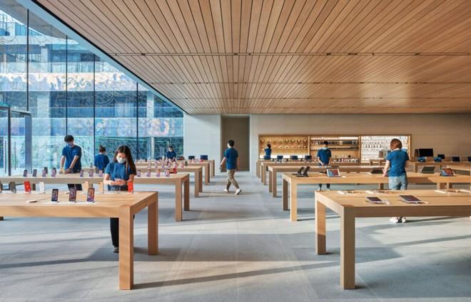 Apple vừa khai trương cửa hàng Apple Store đẹp nhất tại Trung Quốc - Ảnh 2.