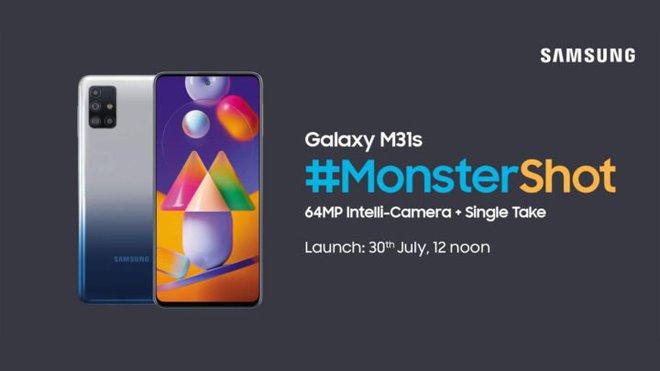 Smartphone giá rẻ Samsung Galaxy M31s sẽ có 4 camera sau, cảm biến 64MP, pin 6.000 mAh, sạc nhanh 25W, giá từ 266 USD - Ảnh 1.
