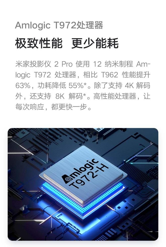Xiaomi ra mắt máy chiếu Mijia Projector 2 Pro: Màn chiếu tối đa 200 inch, độ sáng 1300 ANSI, giá 15 triệu đồng - Ảnh 4.