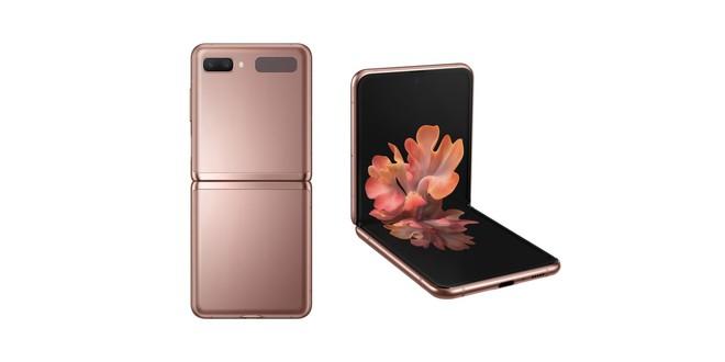 Galaxy Z Flip 5G ra mắt: Snapdragon 865+, màu Đồng Huyền Bí mới, giá 1500 USD - Ảnh 1.