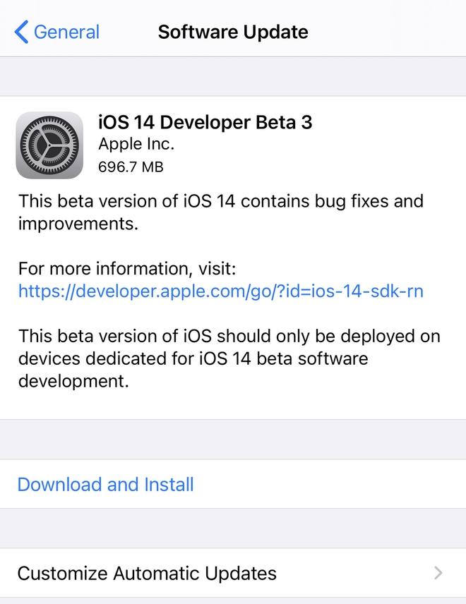iOS 14 Beta 3 ra mắt: Tổng hợp những tính năng mới - Ảnh 8.