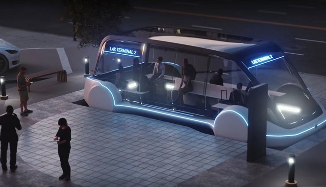 Elon Musk nhá hàng ảnh dựng trạm hyperloop rất ấn tượng tại Las Vegas - Ảnh 2.