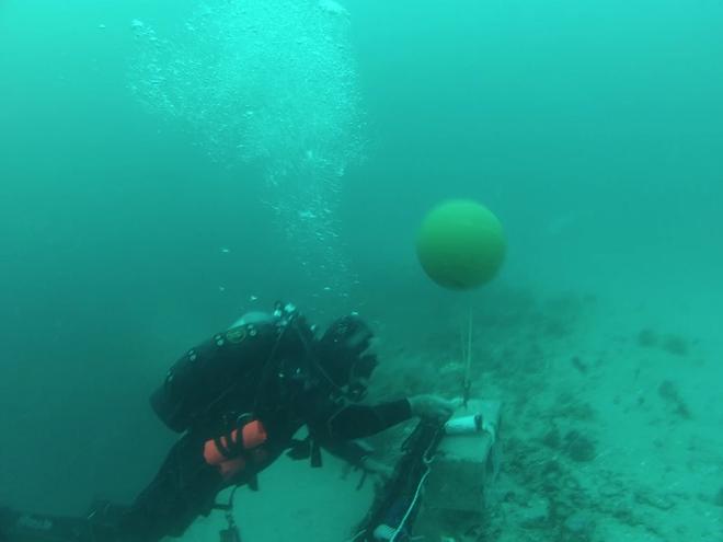 Các nhà khoa học tiến hành nghiên cứu những hố xanh nằm dưới đáy đại dương, phát hiện ra được nhiều điều thú vị - Ảnh 3.