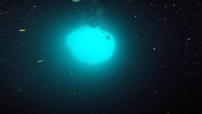 Các nhà khoa học tiến hành nghiên cứu những hố xanh nằm dưới đáy đại dương, phát hiện ra được nhiều điều thú vị - Ảnh 1.