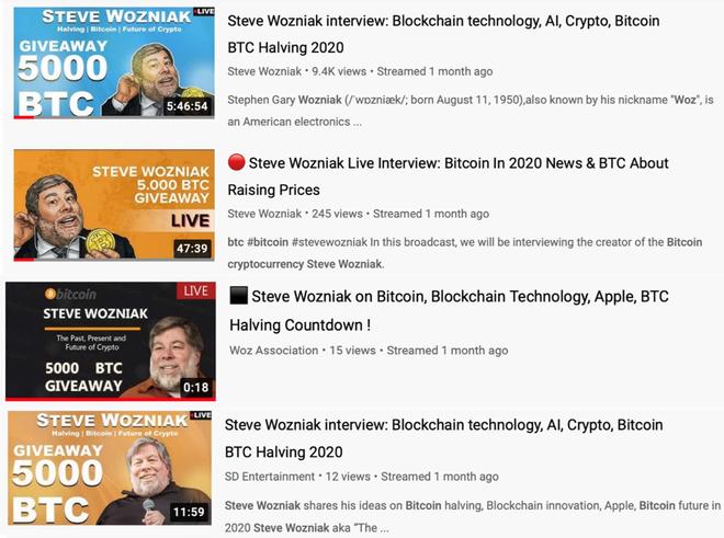 Không xóa các đoạn video lừa đảo bitcoin, YouTube bị nhà đồng sáng lập Apple khởi kiện - Ảnh 2.